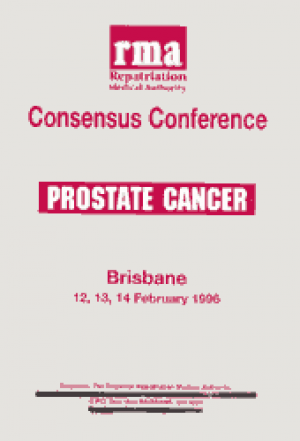 RMA Consensus Conference Prostate Cancer 1996